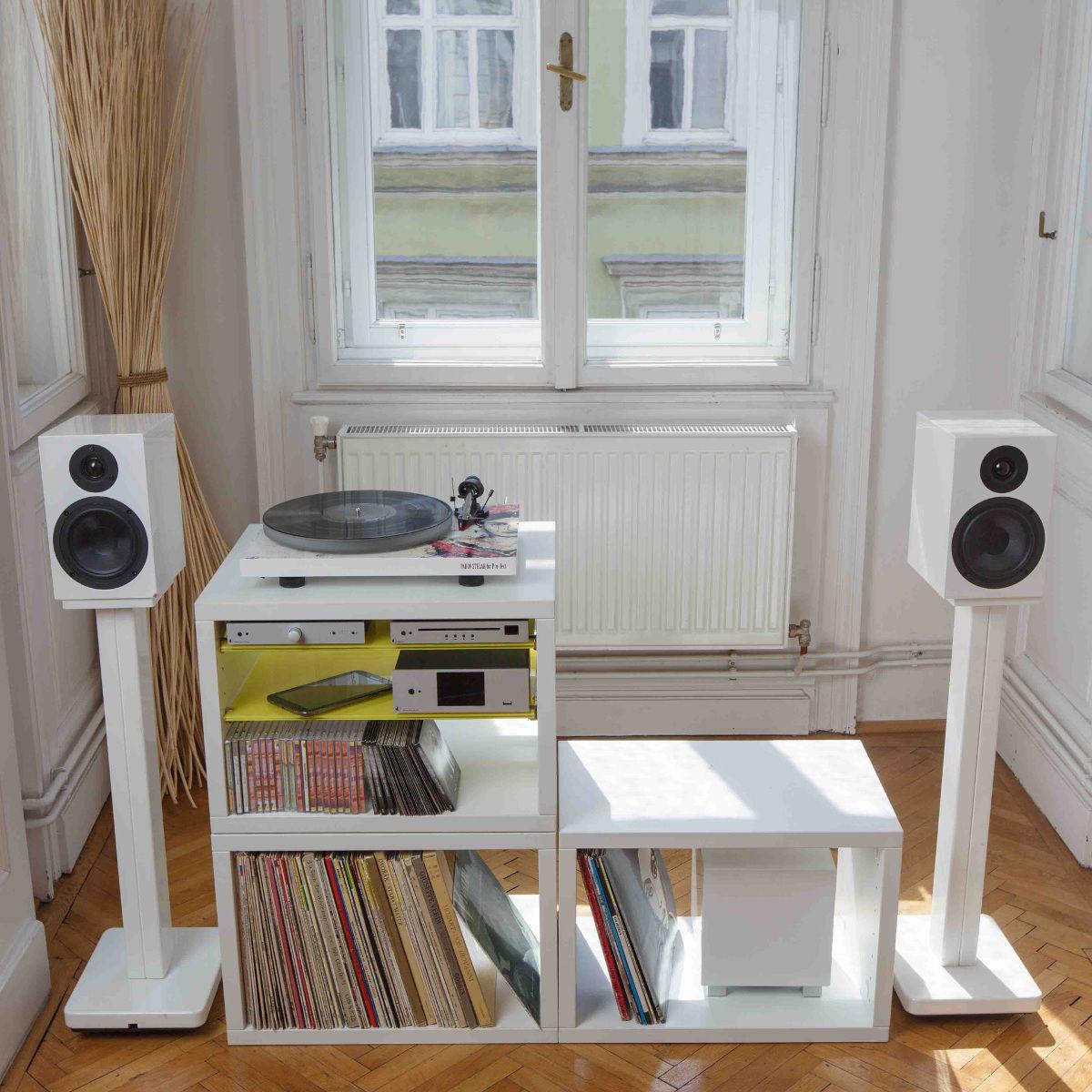 Meuble pour disques vinyle platine vinyle rangement 33t - Meuble rangement pour disque vinyle ...