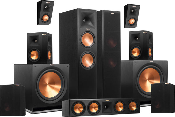 Home cinema klipsch 7.2