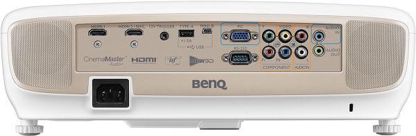 Vue arrière du BenQ W2000.