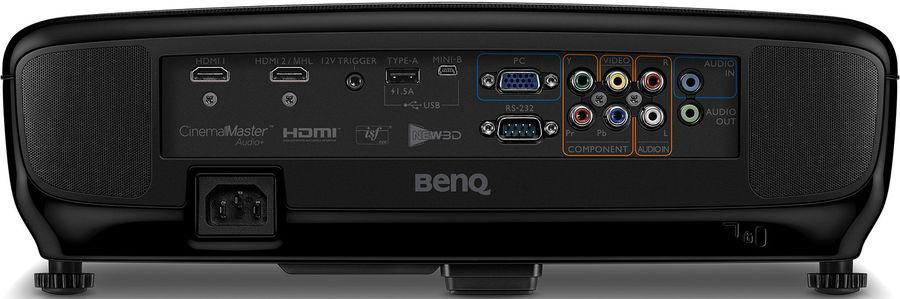 BenQ W2000+ : la connectique