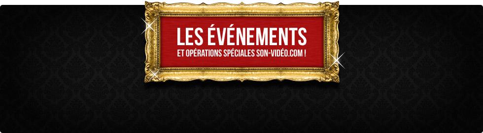 Événements Son-Vidéo.com