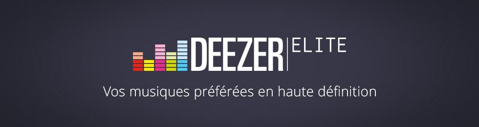 Deezer Elite disponible sur SONOS