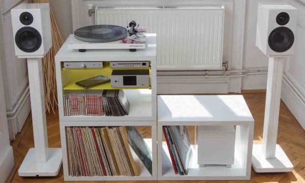 Choisir un meuble pour vinyles