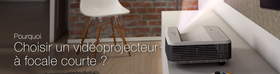 Choisir un vidéoprojecteur à focale ultra courte