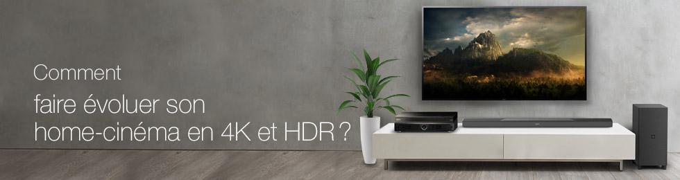 Comment faire évoluer son home-cinéma en 4K et HDR ?