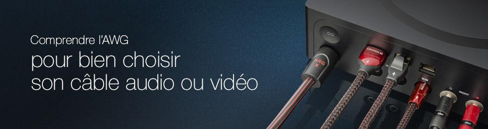 Comprendre l'AWG pour bien choisir son câble audio ou vidéo
