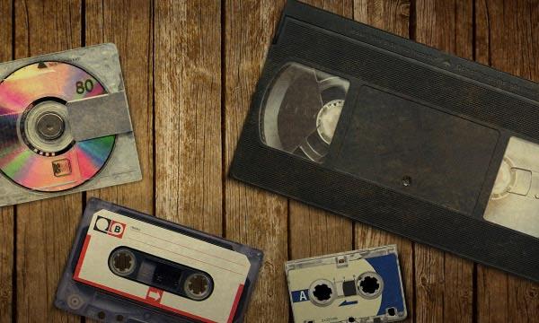 Coup d'oeil sur les supports audio et vidéo en voie d'extinction
