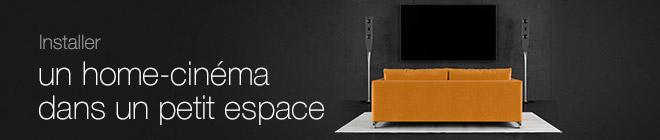 Comment installer un home cinéma dans un petit espace ?