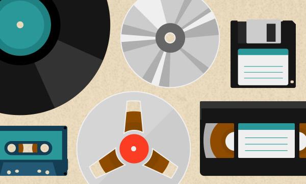 L'évolution du support physique dans l'industrie de la musique