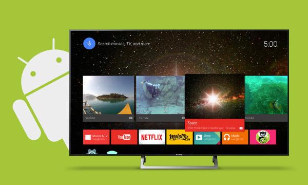 La sélection téléviseurs AndroidTV