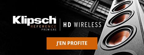 Enceintes Klipsch Reference Premiere HD Wireless.