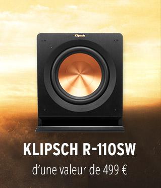 Caisson de basses Klipsch R-110SW