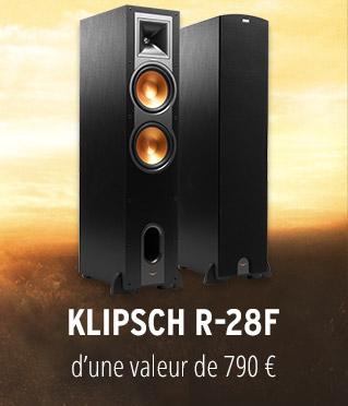 Paire d'enceinte colonne Klipsch Reference R-28F