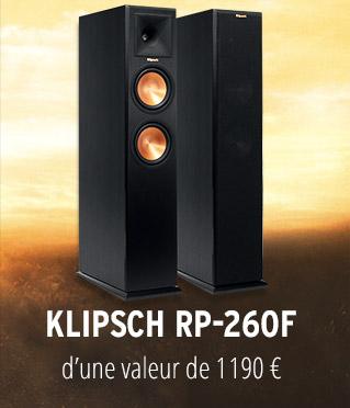 paire d'enceinte colonne Klipsch RP-260F