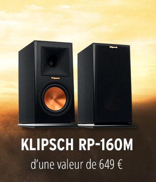 Paire d'enceintes compactes Klipsch RP-160M