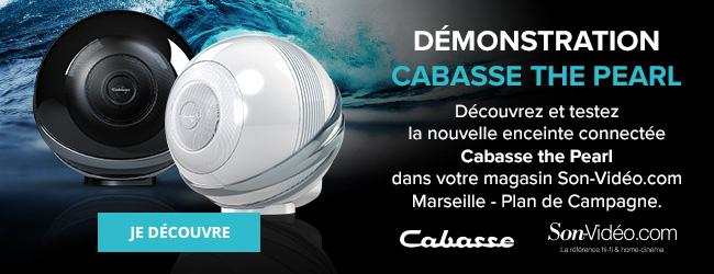 Découvrez et testez la nouvelle enceinte connectée Cabasse the Pearl dans votre magasin Son-Vidéo.com Marseille - Plan de Campagne. Je découvre.