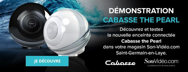 Découvrez et testez la nouvelle enceinte connectée Cabasse the Pearl dans votre magasin Son-Vidéo.com Saint-Germain-en-Laye. Je découvre.