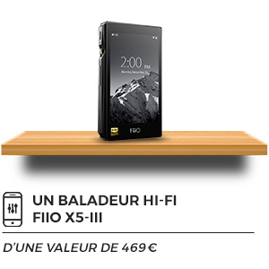 Baladeur audiophile FiiO X5 III