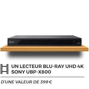 Lecteur Blu-Ray UHD 4K Sony UBP-X800