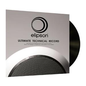 Disque de réglage Elipson Ultimate Technical Record