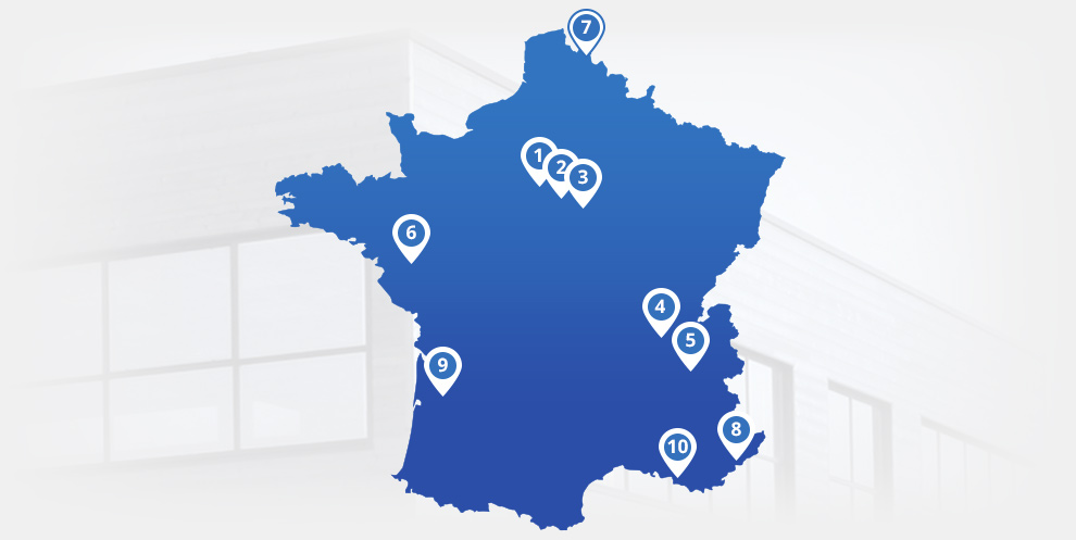 Vos 10 magasins Son-Vidéo en France: Antibes, Champigny-sur-Marne, Bordeaux, Grenoble, Paris 8e, Lille, Lyon, Marseille - Plan de Campagne, Nantes et Saint-Germain-en-Laye.