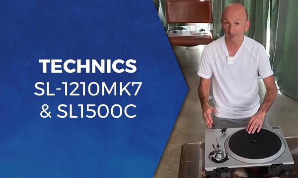 Technics SL-1210MK7 & SL1500C