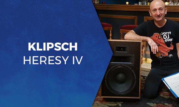 Klipsch Heresy IV