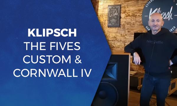 Klipsch The Fives Custom & Cornwall IV