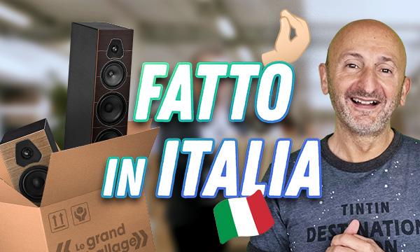 Fatto in Italia Sonus Faber Lumina II et V