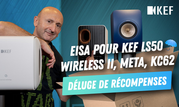 KEF : EISA pour LS50 Wireless II, Meta, KC62