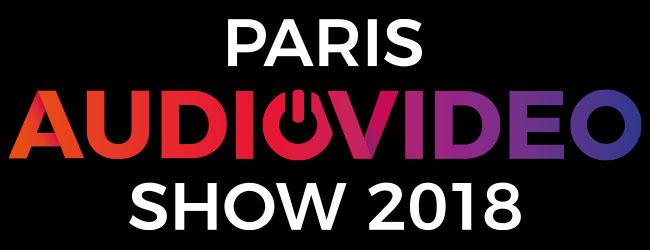 Le logo de Paris Audio Vidéo Show.