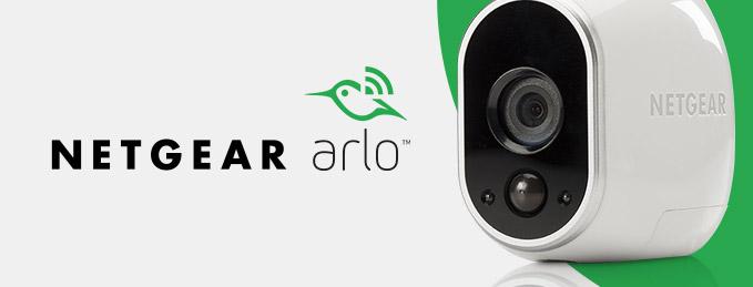 Netgear Arlo : Caméras de surveillance connectées