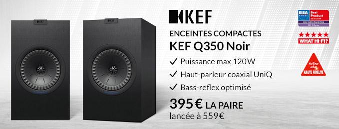 KEF Q350 : Une références des enceintes bibliothèque