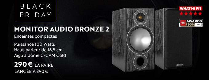 Monitor Audio Bronze 2 : La plus polyvalente des enceintes compactes