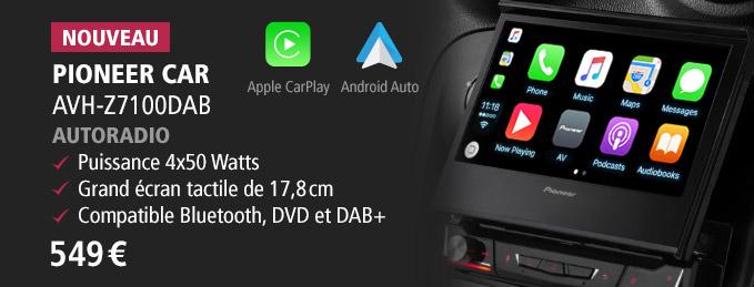 Pioneer Car AVH-Z7100DAB : Transformez votre voiture en salon multimédia !