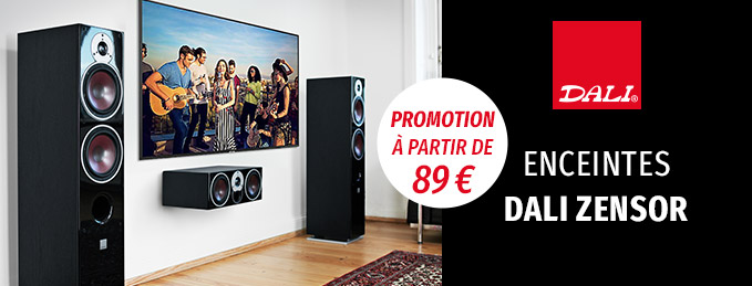 Dali Zensor : Promotion : à partir de 89 €