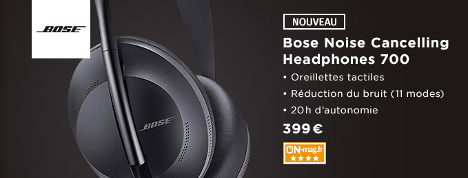 Bose Noise Cancelling Headphones 700 : La meilleure réduction de bruit active