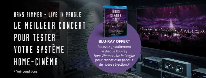 Blu-ray Hans Zimmer Live in Prague : Le meilleur concert pour tester son home-cinéma