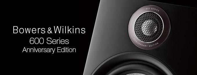 Enceintes Bowers & Wilkins : 600 Series Anniversary Edition
