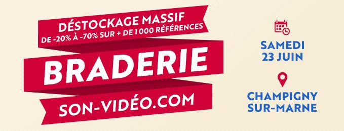 Braderie : déstockages massifs : Le 23 juin à Champigny-sur-Marne