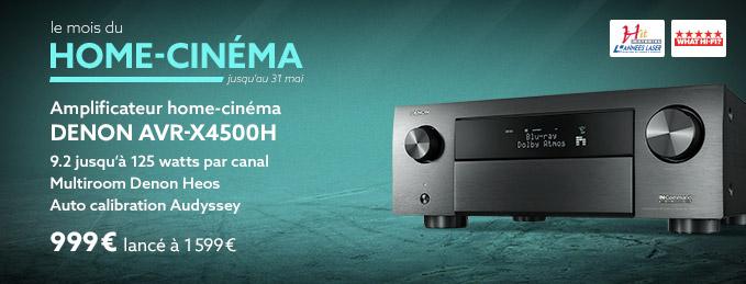 Denon AVR-X4500H : Le cinéma immersif par Denon