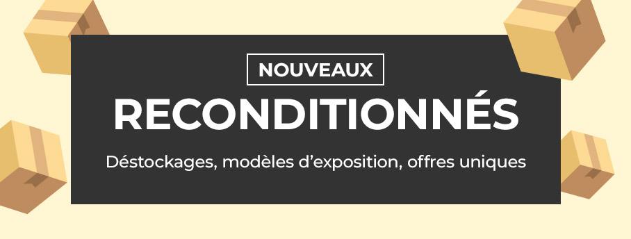 + de 700 nouveaux reconditionnés : TV & vidéoprojecteurs à l'honneur