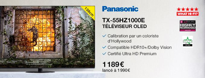 """Panasonic TX-55HZ1000E : Téléviseur OLED  de 139 cm (55"""")"""
