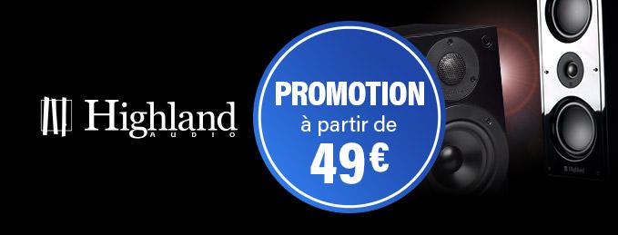Enceintes Highland Audio : Soldes exceptionnels : à partir de 79 €