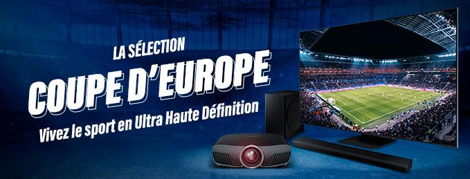 La sélection Coupe d'Europe : Vivez le Sport en Ultra Haute Définition