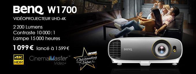 BenQ W1700 : Une expérience cinéma grandiose !