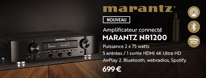 Marantz NR1200 : La nouvelle génération d'ampli hi-fi Marantz