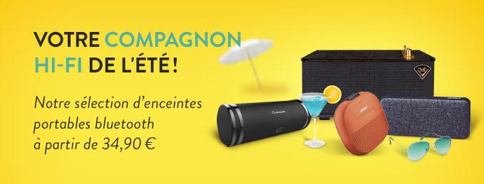Enceintes bluetooth portables : Votre compagnon Hi-Fi de l'été