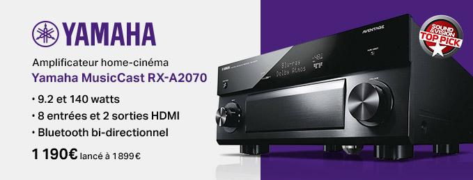 Yamaha MusicCast RX-A2070 : Un must en home-cinéma