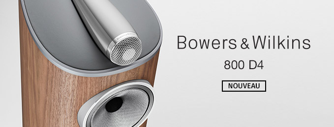 Bowers & Wilkins : Nouvelle gamme 800 D4 Series Diamond